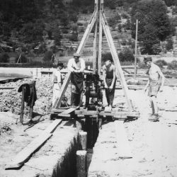 Baubeginn der Fabrik
