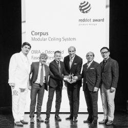Verleihung des Reddot Awards