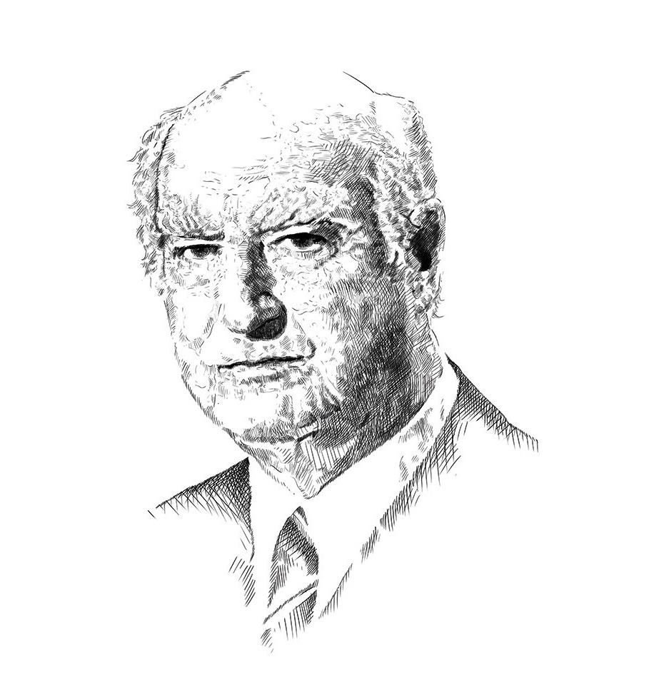 Portrait Friedrich-Karl Rogge