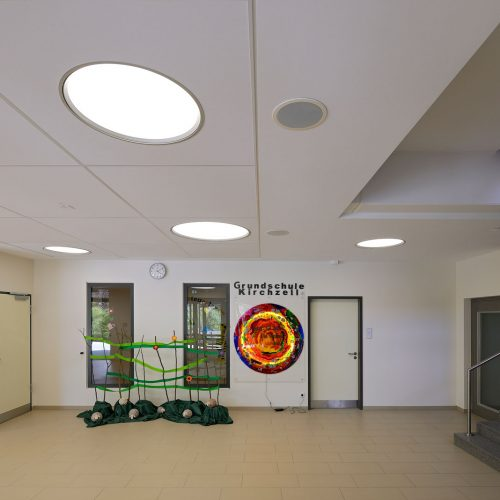 Renovation of a school building in Kirchzell, Germany