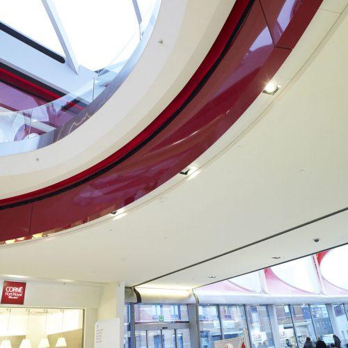 Centre commercial Médiacité à Liège en Belgique