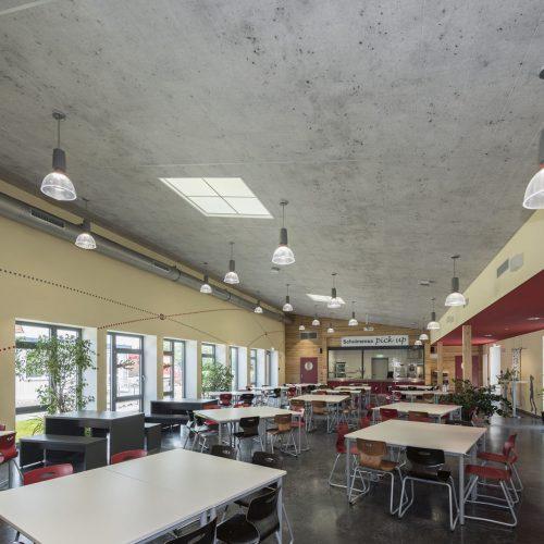 School canteen in Eicklingen, Germany