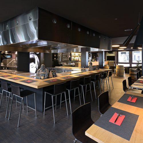 Sushi Bar in Basel, Switzerland
