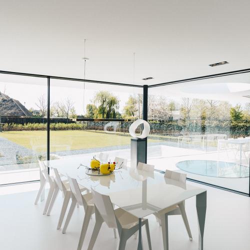 Architects Villa of Loek Stijnen, Zeeland in the Netherlands